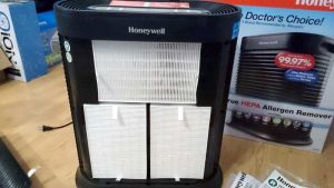 Easily removable True HEPA filters